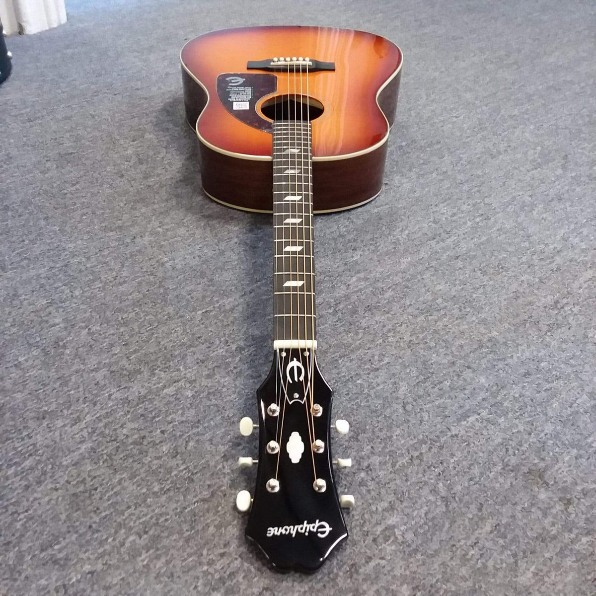 Epiphone GUITARS - ACOUSTIC GUITARS Epiphone Inspired by 1964 Texan FT-79  Acoustic-Electric Guitar
