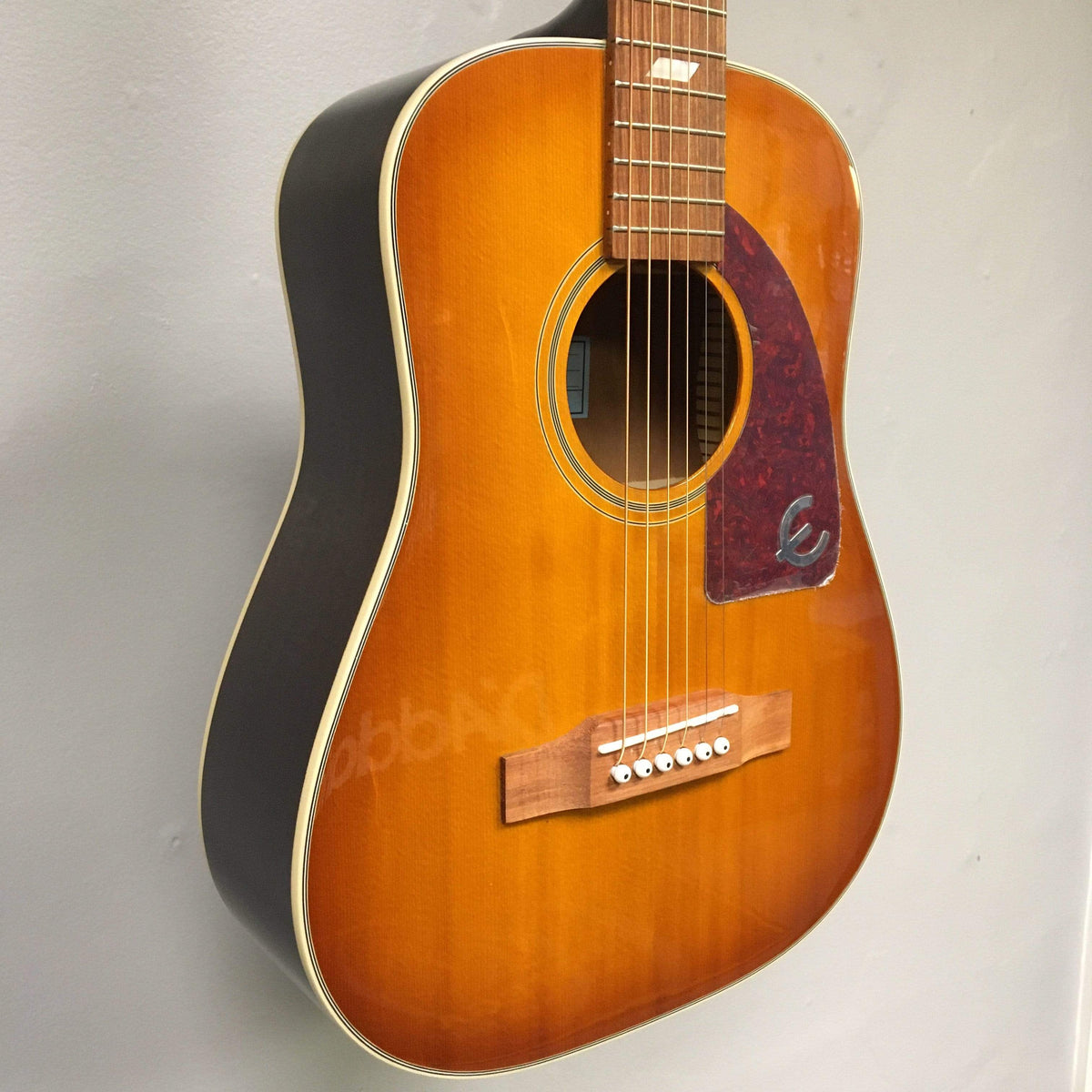 Epiphone GUITARS - ACOUSTIC GUITARS Epiphone Lil' Tex Travel Acoustic - Faded Cherry