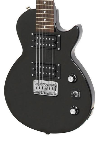 Epiphone GUITARS - ELECTRIC GUITARS Default Epiphone Les Paul Express Ebony 3/4 Size Electric Guitar