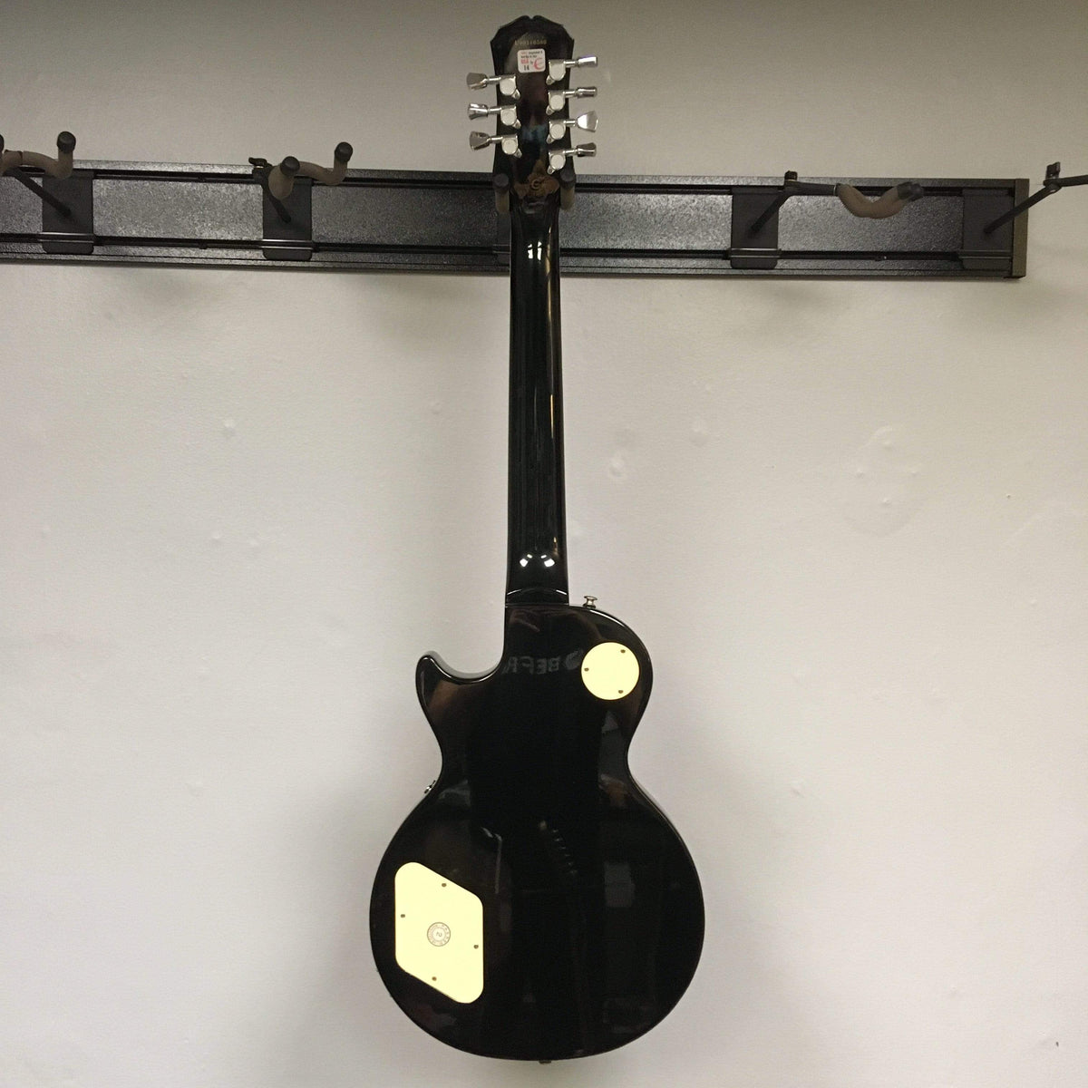 Epiphone GUITARS - ELECTRIC GUITARS Epiphone Limited Edition Les Paul 7 String Trans Black w/case