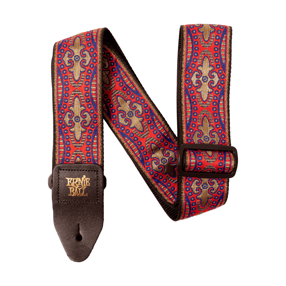 Ernie Ball ACCESSORIES EB Kashmir Sunset Jacquard Strap