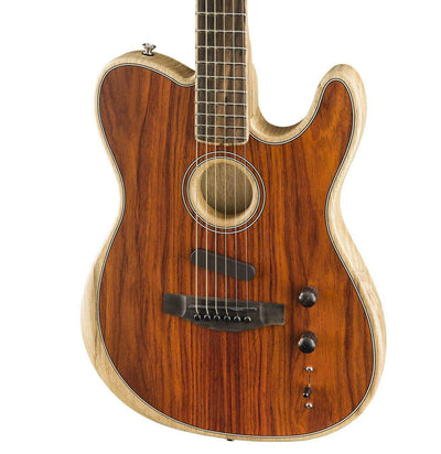 Fender GUITARS - ELECTRIC GUITARS - HYBRID Fender Exotic Acoustasonic Telecaster Cocobolo