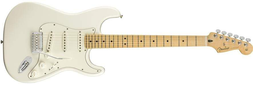 FENDER GUITARS - ELECTRIC GUITARS Polar white Fender Player Stratocaster