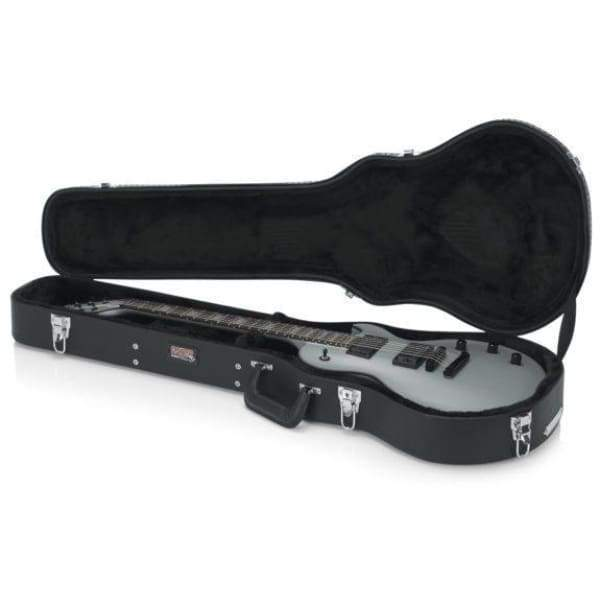 Gator CASES AND GIGBAGS Default Gator DELUXE WOOD SERIES Gibson Les Paul® Guitar Case