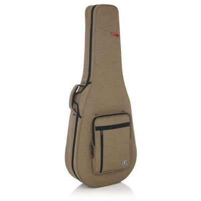 Gator CASES AND GIGBAGS Default Gator TRANSIT LIGHTWEIGHT SERIES Tan Transit Lightweight Dreadnought Guitar Case