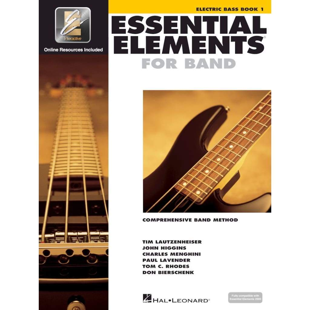 HAL LEONARD MUSIC BOOKS Default Essential Elements for Band - Book 1 with EEi Electric Bass Essential Elements for Band