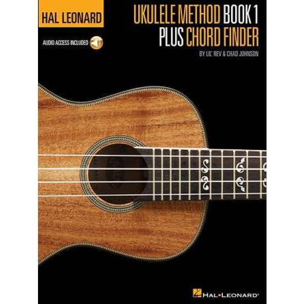 HAL LEONARD MUSIC BOOKS Default Hal Leonard Ukulele Method Book 1 Plus Chord Finder