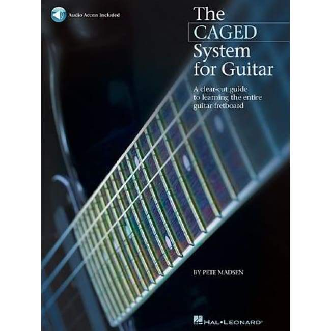 HAL LEONARD MUSIC BOOKS Default The CAGED System for Guitar A Clear-Cut Guide to Learning the Entire Guitar Fretboard