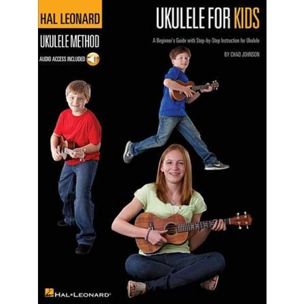 HAL LEONARD MUSIC BOOKS Default Ukulele for Kids – The Hal Leonard Ukulele Method A Beginner's Guide with Step-by-Step Instruction for Ukulele