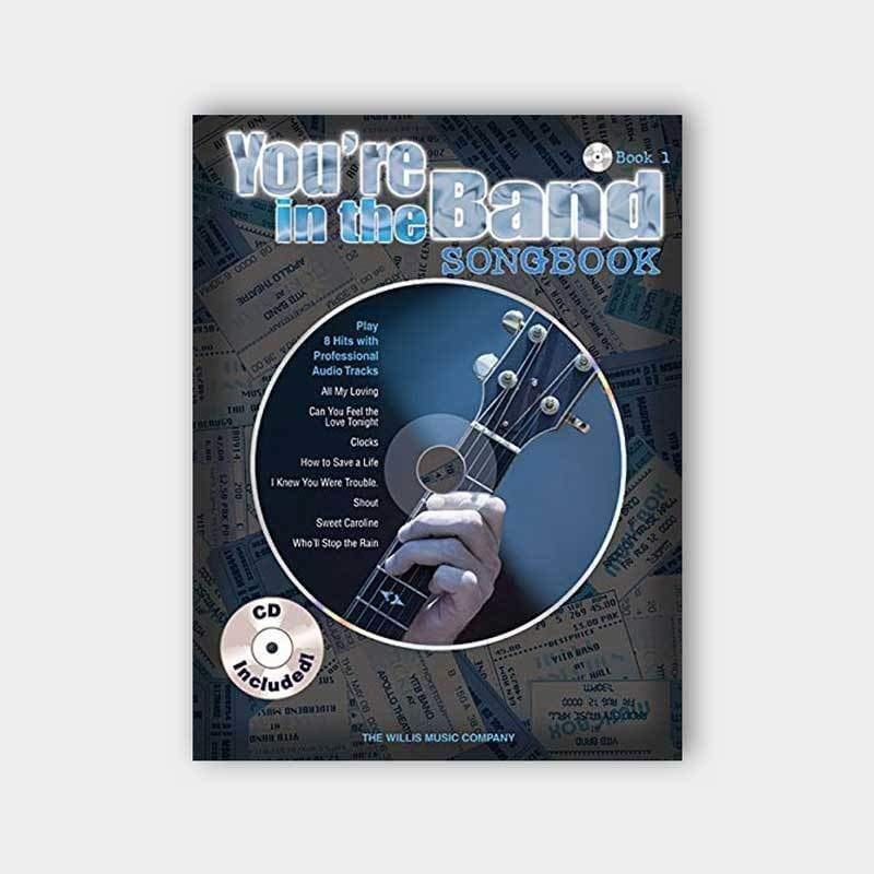 HAL LEONARD MUSIC BOOKS Default You're In The Band Songbook