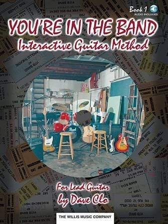 You're in the Band – Interactive Guitar Method Book 1 for Lead Guitar