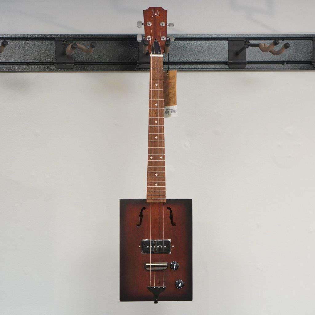 J.N. Guitars ACOUSTICFOLK INSTRUMENTS JN HOGSHEAD Cigar Box Guitar