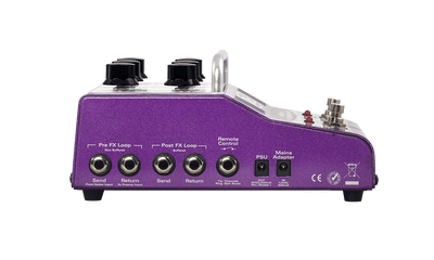 Koch EFFECTS PEDALS Koch Amps Tube Powered Guitar Pre-Amp with Contemporary Overdrive Purple