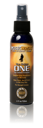 Music Nomad The Guitar ONE - All in One Cleaner, Polish, Wax 4oz