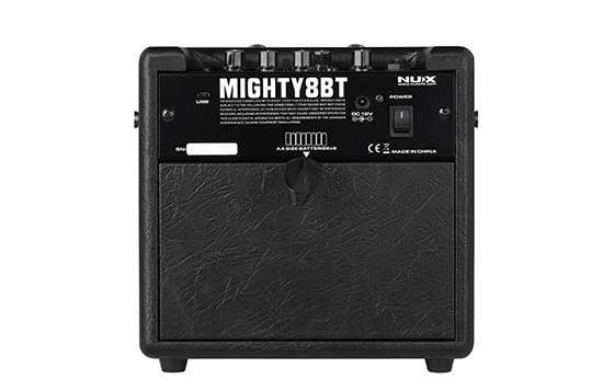 Nux AMPS NUX Mighty 8BT Portable Battery Powered Guitar Amplifier