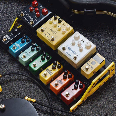Nux EFFECTS PEDALS NUX Bumblebee-M Pedal Board w/Bag