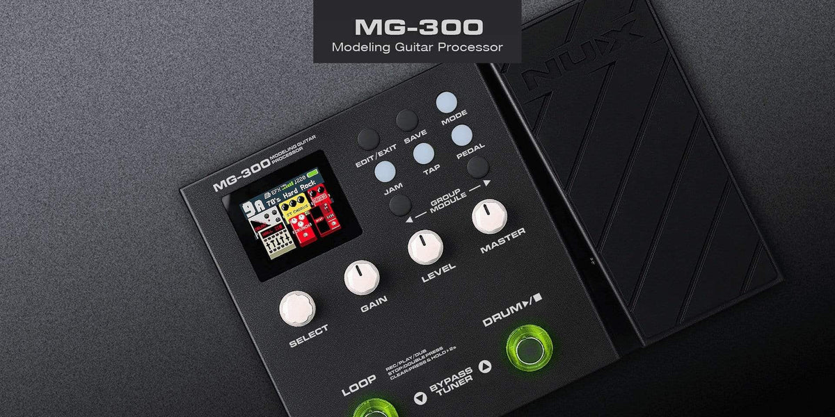 Nux EFFECTS PEDALS NUX MG-300 Multi Effects Pedal