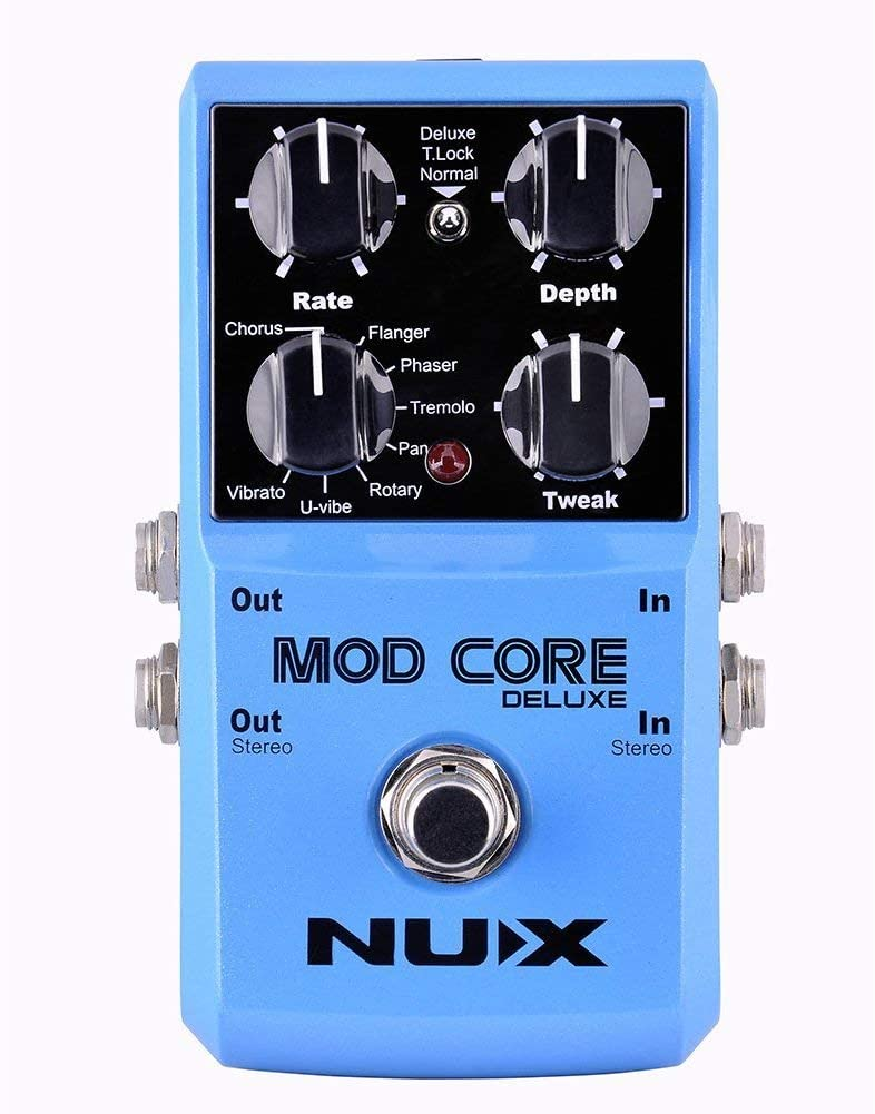 Nux EFFECTS PEDALS NUX Mod Core Deluxe Modulation Effects Pedal