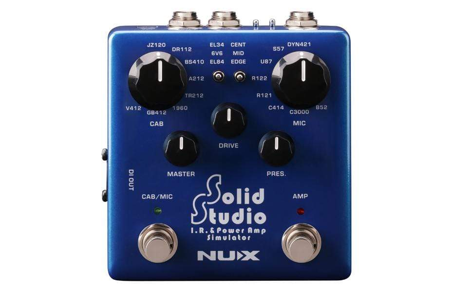Nux EFFECTS PEDALS NUX Solid Studio IR Loader Power Amp, Speaker, and Mic Emulation