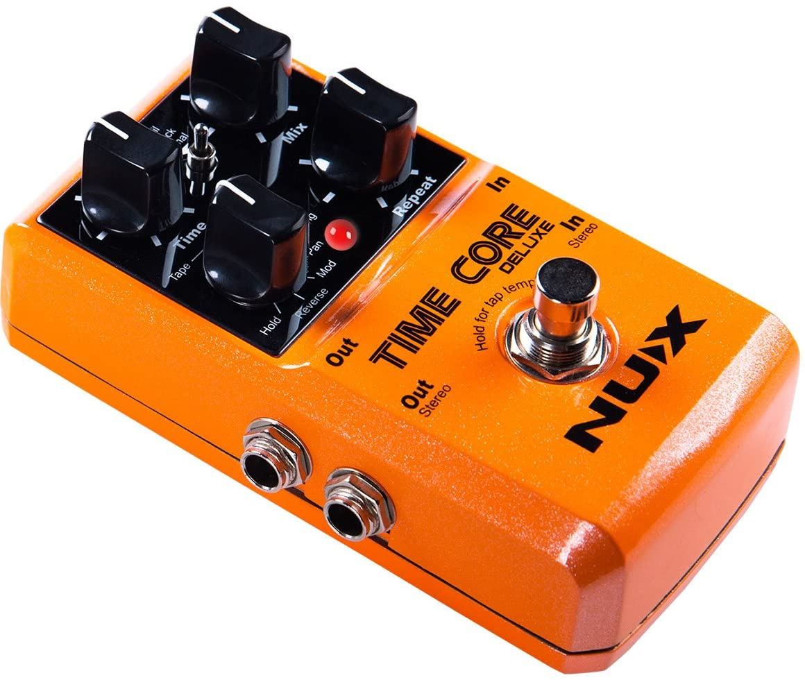 Nux EFFECTS PEDALS NUX Time Core Deluxe Delay Effects Pedal