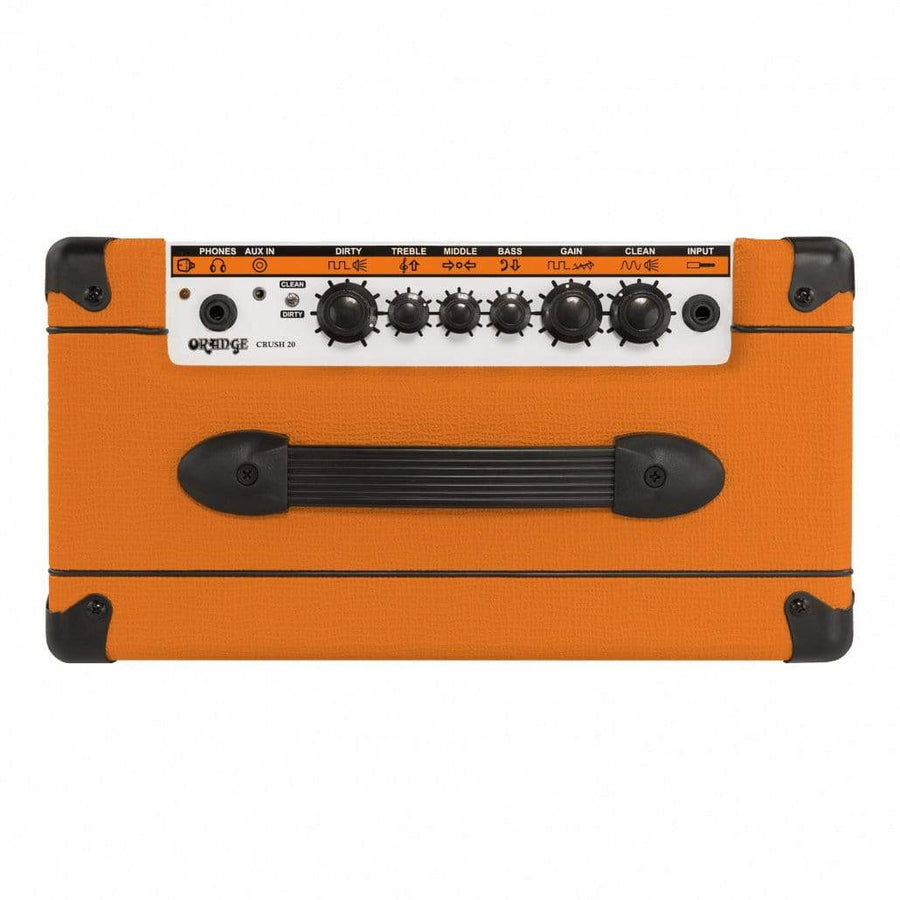 "Orange AMPS - ELECTRIC GUITAR AMPS Default Orange Crush 20 - 20-watt 1x8"" Combo Amp"