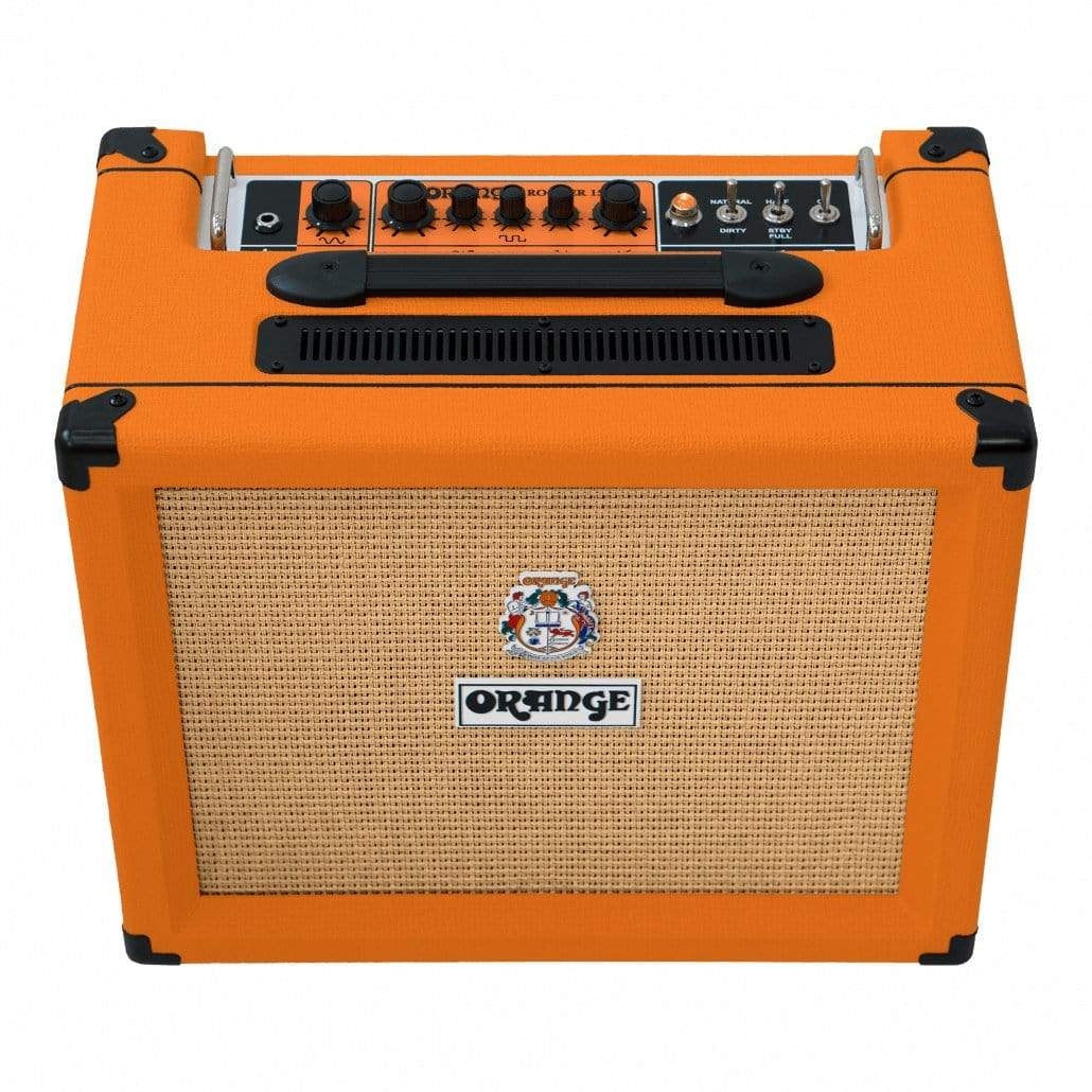 "Orange AMPS - ELECTRIC GUITAR AMPS Default Orange Rocker 15 - 15-watt 1x10"" Tube Combo"