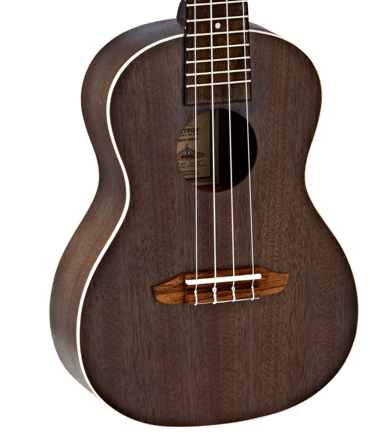 Ortega ACOUSTIC& - FOLK INSTRUMENTS - UKULELE Ortega Ukulele Concert Earth Series Coal Black