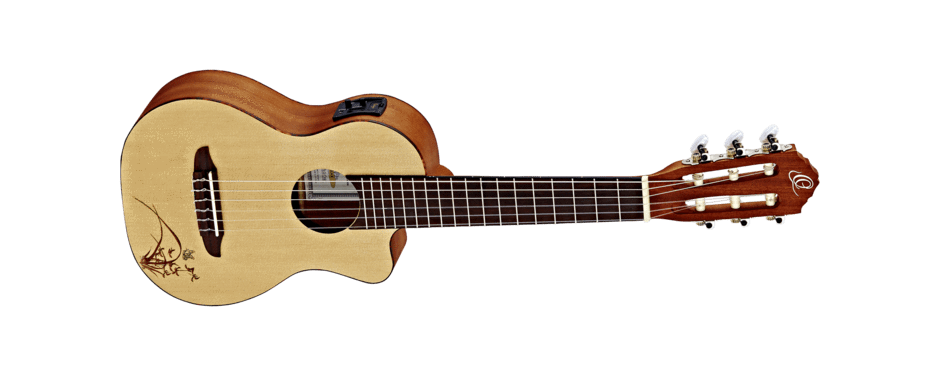 Ortega Guitarlele Series Preamp NT - Natural