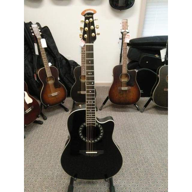 OVATION Unclassified Default OVATION LEGEND 2077 AX GLOSS BLACK W/OVATION CASE