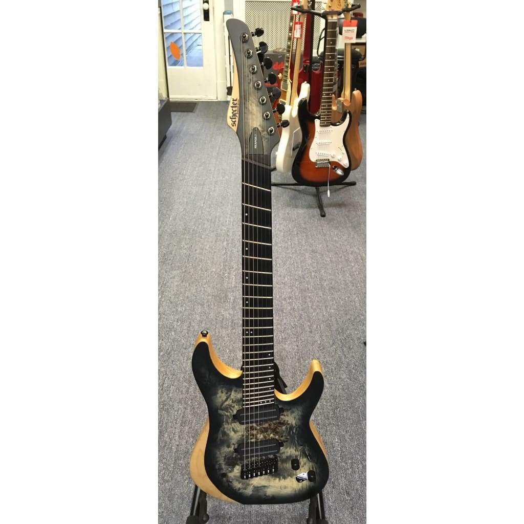 SCHECTER GUITARS - ELECTRIC GUITARS - 7 STRING Default Schecter Reaper-7 Multiscale Satin Charcoal Burst