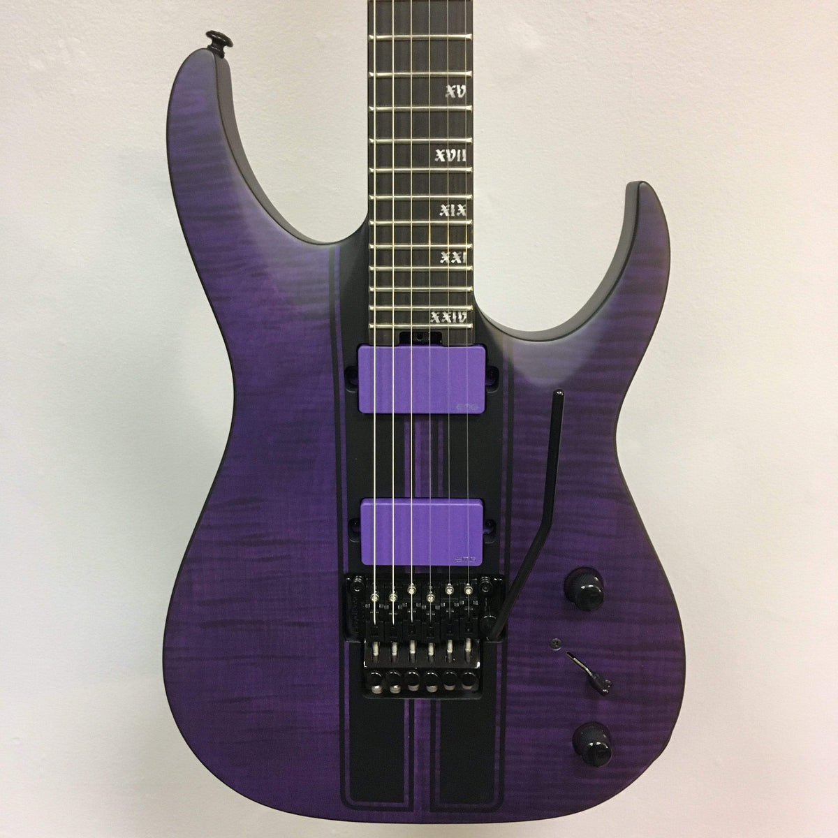 Schecter Banshee GT FR Satin Trans Purple (Demo discount)