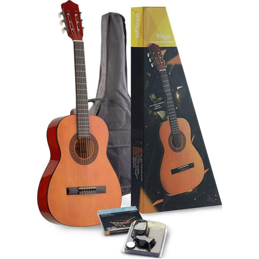 STAGG ACOUSTIC GUITARS - KID GUITARS ACOUSTIC Default Stagg 3/4 Size C530 Starter Pack
