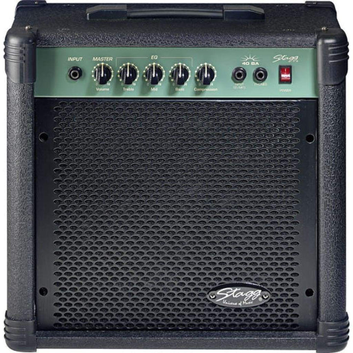STAGG AMPS - BASS GUITAR AMPS STAGG 40 WATT BASS AMP