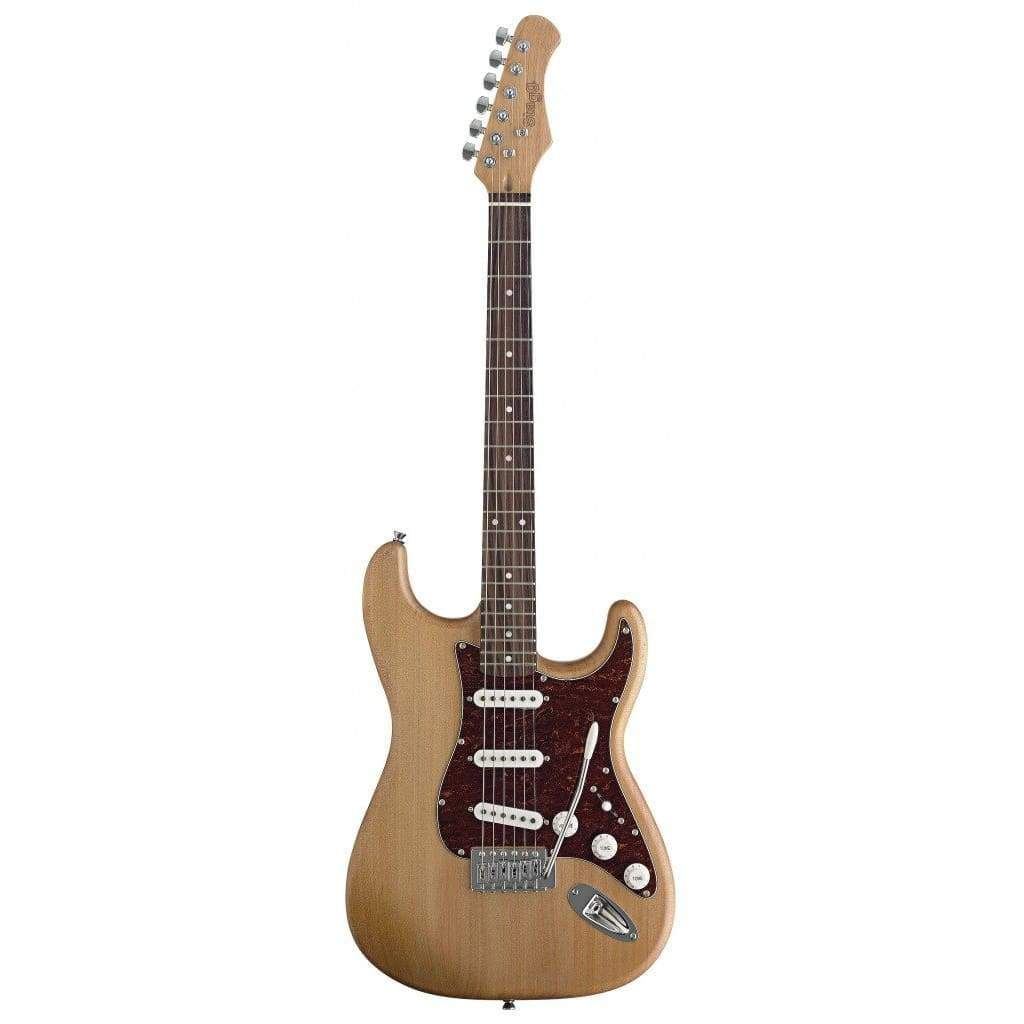 STAGG GUITARS - ELECTRIC GUITARS Default Stagg Strat Style Alder Natural Satin