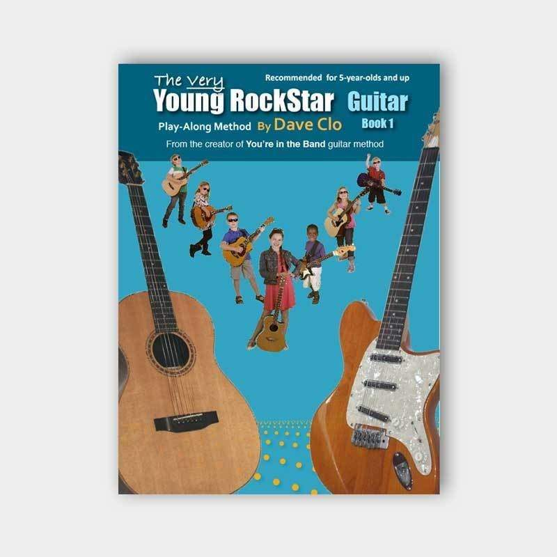 Willis Music Company MUSIC BOOKS Default The Very Young Rockstar: Guitar Method Book 1