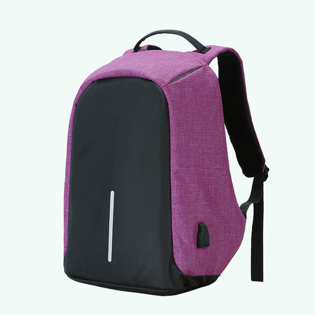 e0faffc31f50 ANTI-THEFT ORIGINAL MULTIFUNCTIONAL TRAVEL   LAPTOP BACKPACK WITH USB - 15.6  INCH