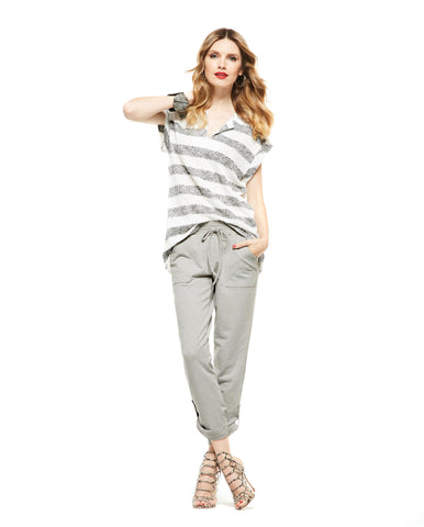 Picadilly-Womens-Fashion Striped T Shirt