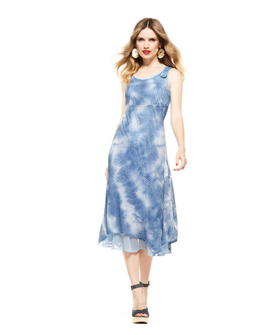 Picadilly Canada Fashion blue dress