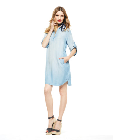 Picadilly Womens Fashion Denim Dress
