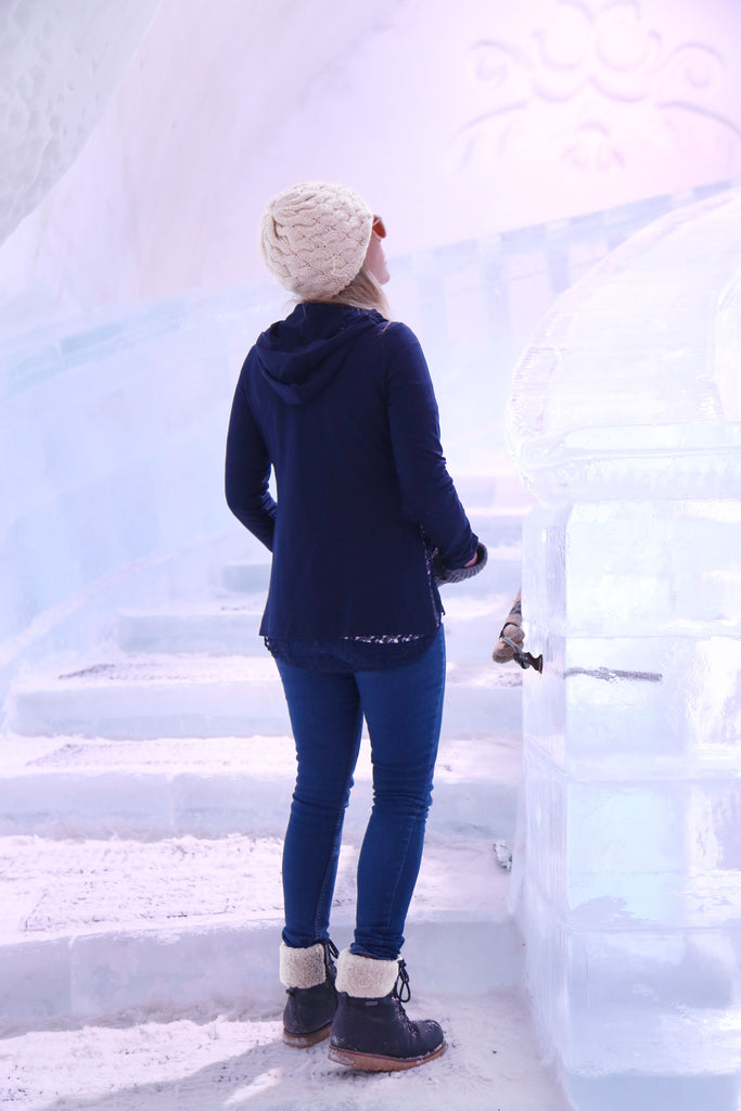Picadilly Canada Winter Fashion Ice Hotel