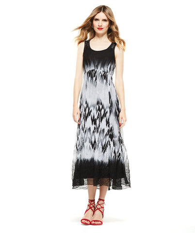 Picadilly Womens Fashion Black Maxi Dress