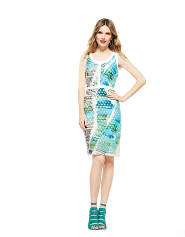 Picadilly Womens Fashion Blue Dress