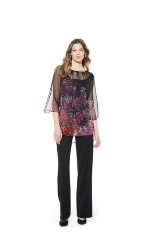 Picadilly Womens Fashion Floral Blouse