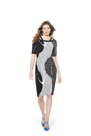 Picadilly Fashion Long Sleeve Dress