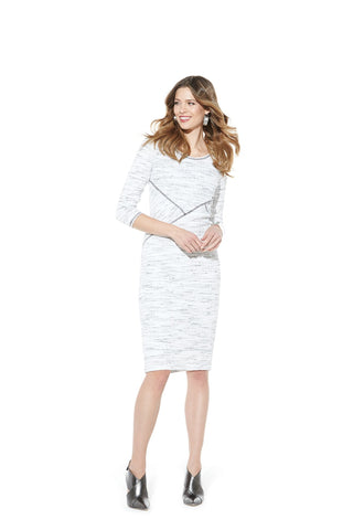 Picadilly Womens Fashion White Dress