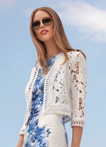 Womens Fashion Trends Lace Jacket