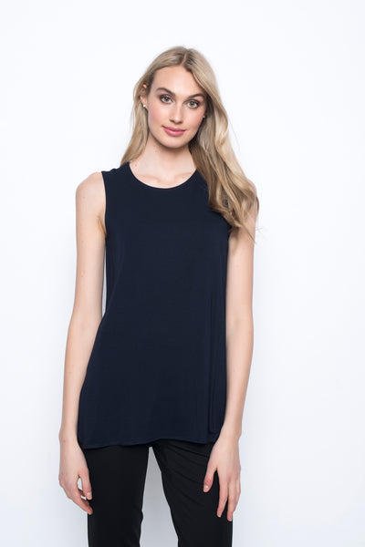 Curved Hem Tank Top