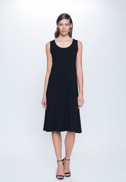 A-Line Dress in black by Picadilly canada