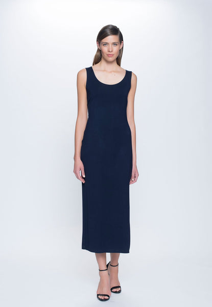 Maxi Dress with High Side Slit