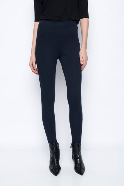 Pull on Leggings in deep navy by Picadilly Canada